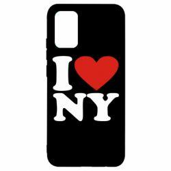 Чохол для Samsung A02s/M02s Люблю Нью Йорк