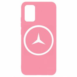 Чохол для Samsung A02s/M02s Mercedes new logo