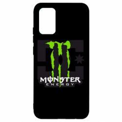 Чехол для Samsung A02s/M02s Monster Energy DC