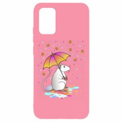 Чохол для Samsung A02s/M02s Mouse and rain