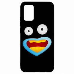 Чохол для Samsung A02s/M02s Mouth And Eyes