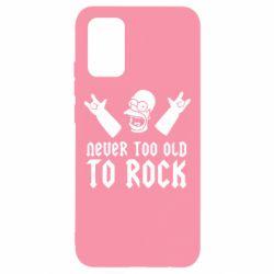 Чехол для Samsung A02s/M02s Never old to rock (Gomer)