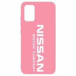 Чехол для Samsung A02s/M02s Nissan Motor Company