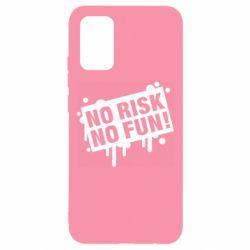 Чохол для Samsung A02s/M02s No Risk No Fun