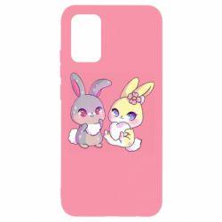 Чохол для Samsung A02s/M02s Rabbits In Love
