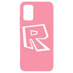Чохол для Samsung A02s/M02s Roblox minimal logo