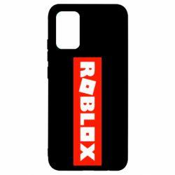 Чохол для Samsung A02s/M02s Roblox suprem