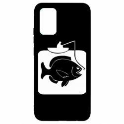 Чохол для Samsung A02s/M02s Риба на гачку