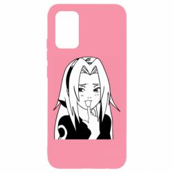 Чохол для Samsung A02s/M02s Sakura girl