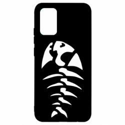 Чохол для Samsung A02s/M02s скелет рибки