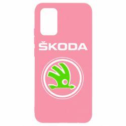 Чехол для Samsung A02s/M02s Skoda Bird