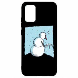 Чохол для Samsung A02s/M02s Snowman. It's Cold!