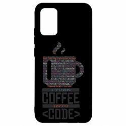 Чохол для Samsung A02s/M02s Сoffee code