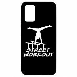 Чехол для Samsung A02s/M02s Street workout