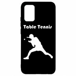 Чохол для Samsung A02s/M02s Table Tennis Logo