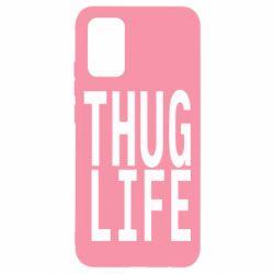 Чохол для Samsung A02s/M02s thug life