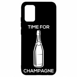 Чохол для Samsung A02s/M02s Time for champagne