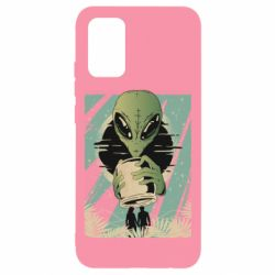 Чохол для Samsung A02s/M02s Alien with a can