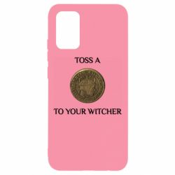 Чохол для Samsung A02s/M02s Toss a coin to your witcher ( орен )