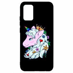 Чохол для Samsung A02s/M02s Unicorn Princess
