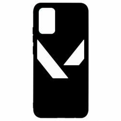 Чохол для Samsung A02s/M02s Valorant sign