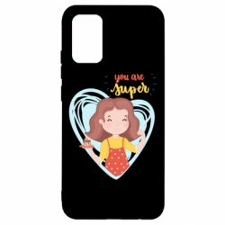 Чохол для Samsung A02s/M02s You are super girl