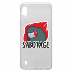 Чохол для Samsung A10 Among Us Sabotage