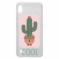 Чехол для Samsung A10 Cactus art