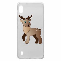 Чехол для Samsung A10 Cartoon deer