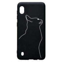 Чохол для Samsung A10 Cat line