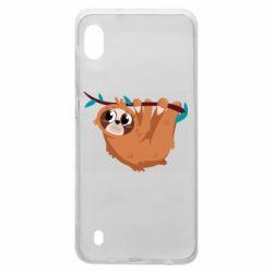 Чохол для Samsung A10 Cute sloth