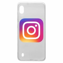Чохол для Samsung A10 Instagram Logo Gradient