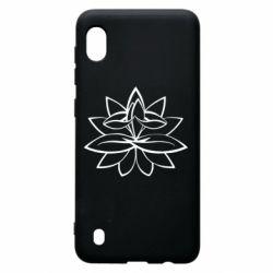 Чохол для Samsung A10 Lotus yoga