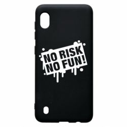 Чохол для Samsung A10 No Risk No Fun