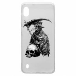 Чехол для Samsung A10 Plague Doctor graphic arts