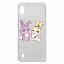 Чохол для Samsung A10 Rabbits In Love