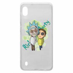 Чохол для Samsung A10 Rick and Morty voodoo doll