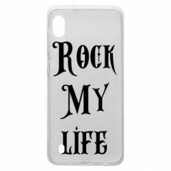 Чехол для Samsung A10 Rock my life