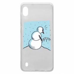 Чохол для Samsung A10 Snowman. It's Cold!