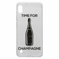 Чохол для Samsung A10 Time for champagne