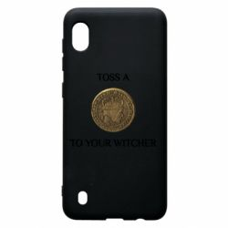Чохол для Samsung A10 Toss a coin to your witcher ( орен )
