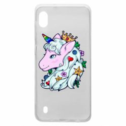 Чохол для Samsung A10 Unicorn Princess
