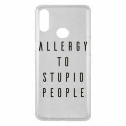 Чохол для Samsung A10s Allergy To Stupid People