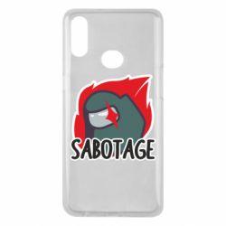 Чохол для Samsung A10s Among Us Sabotage