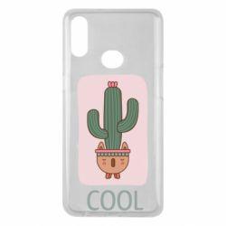 Чехол для Samsung A10s Cactus art