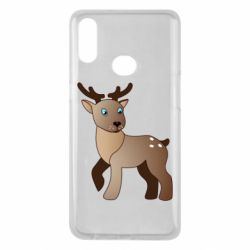 Чехол для Samsung A10s Cartoon deer