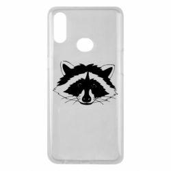 Чохол для Samsung A10s Cute raccoon face