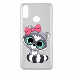 Чехол для Samsung A10s Cute raccoon