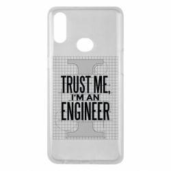 Чохол для Samsung A10s Довірся мені я інженер