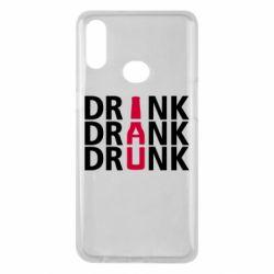 Чехол для Samsung A10s Drink Drank Drunk